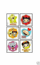 12 Ni Hao Kai Lan Temporary Tattoos Kid Party Goody Loot Bag Filler Favor Supply