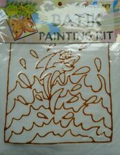 Fun-to-Do Batik dipinto KIT (FISH) con BATIK CRAFT Malesia