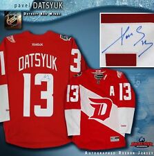 PAVEL DATSYUK Signed Detroit Red Wings 2016 NHL Stadium Series Reebok Jersey