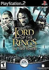 LORD OF THE RINGS: THE TWO TOWERS PLAYSTATION 2 (PS2, 2002) GAME COMPLETE