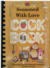 *SUBLIMITY OR 1993 SEASONED WITH LOVE COOK BOOK *MARIAN RETIRMENT CENTER FRIENDS