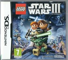 Nintendo DS LEGO Star Wars III: The Clone Wars (plays 3ds in 2D)