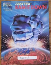JUDAS PRIEST RAM IT DOWN GUITAR TAB TABLATURE SONGBOOK