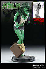 X-MEN SIDESHOW SHE-HULK COMIQUETTE EXCLUSIVE EDITION 1/4 SCALE STATUE BRAND NEW
