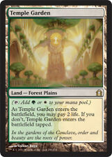 Temple Garden MTG Return to Ravnica Light Play, English X1