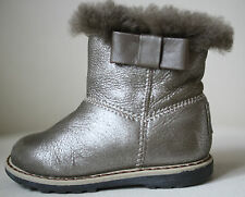 Baby dior shearling doublé de fourrure bottines eu 20 uk 4
