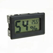 Digital LCD Indoor Temperature Humidity Thermometer Hygrometer Meter Gauge
