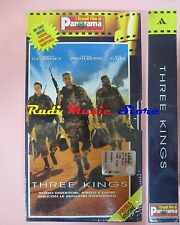 film VHS cartonata THREE KINGS G. Clooney PANORAMA 1999 SIGILLATO  (F16)  no dvd