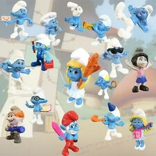 McDonald's 2013 HAPPY MEAL 16-pc near complete set The SMURFS pvc toys