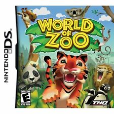 World Of Zoo For Nintendo DS DSi 3DS 2DS Very Good 0E