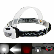 1000Lm 3x CREE R3 +2 Red LED Outdoor Mini Headlight Headlamp Head Torch 4 Mode
