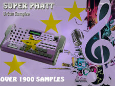 SUPER Phatt Urban Sounds CD - Over 1900 Samples - Kits FX Keys Synths Pads Drums