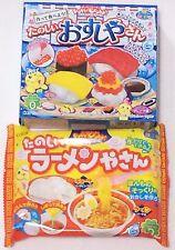 kracie popin cookin happy kitchen Japanese candy making kit Sushi Ramen