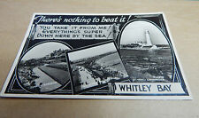 Real photo Whitley Bay multiview posted 1954B2