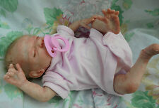 "Reborn baby Ruby realistic premature baby 14"" 3lb artist painted JosyNN"