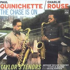 Paul Quinichette & Charlie Rouse: THE CHASE IS ON + TAYLOR'S TENORS