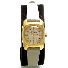 Ladies Silver Dial Bulova Swiss Electric Wrist Watch CA1974