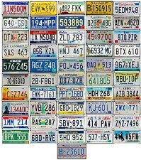 FULL SET 51 USA License Plates - All 50 American States Plus WASHINGTON DC