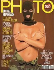 rivista francese PHOTO ANNO 1994 NUMERO 313 LES STARS DE MARK SELIGER