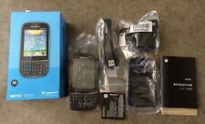 MOTOROLA MOTO XT317 BLACK MOBILE SMARTPHONE NEW IN OPEN BOX!