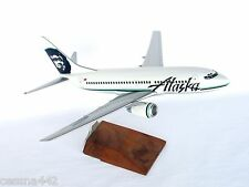 PACMIN - ALASKA AIRLINES Boeing 737 Aircraft Model 1/100 RARE & Collectible Gift