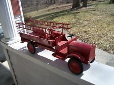 Vintage SteelCraft Ladder Fire Truck