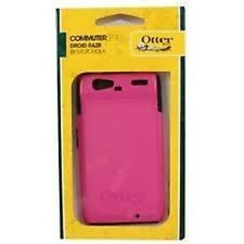 Otterbox Commuter Series Hybrid Case for Motorola Droid RAZR (Black/Pink )
