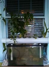Easy Aquaponics or Hydroponics Complete System Grows 8 plants NFT