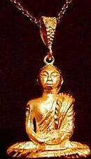 LOOK Buddha Pendant Charm Buddah Gold Plated Luck Jewelry