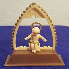 Vintage Plastic Marked HONG KONG Religious BABY JESUS Figurine CUTE