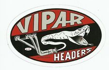 VIPAR HEADERS DRAG RACING Sticker  Decal