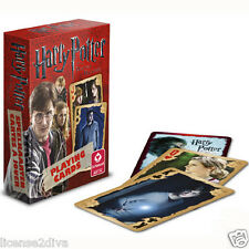 HARRY POTTER & THE DEATHLY HALLOWS PLAYING/POKER CARDS! FROM THE MOVIE! NEW!