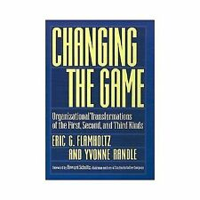 Eric G. Flamholtz and Yvonne Randle~CHANGING THE GAME~SIGNED 1ST/DJ~NICE COPY