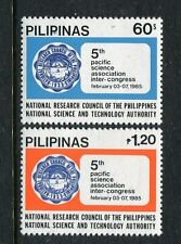 Philippines 1738-1739, MNH, 5th Pacific Science Association Inter-Congress 1985