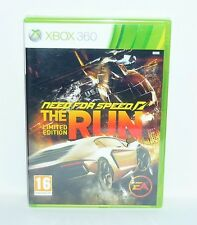 JEU XBOX 360 NEUF NEED FOR SPEED THE RUN LIMITED EDITION