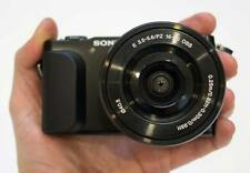 Sony Alpha NEX-3N 16.1 MP Digital Camera w/ 16-50 Lens - Black