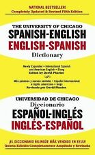 The University of Chicago Spanish-English Dictionary, Fifth Edition by , Good Bo