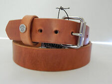 "Hermann Oak HARNESS LEATHER BELT HANDMADE  Winchester 45 MEN 1 1/2"" Made in USA"