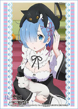 Re:Zero 60 TCG Card Sleeves *Rem* ~Anime MtG Weiss Schwarz Bushiroad Pokemon