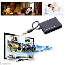 3.5mm Bluetooth Audio Transmitter A2DP Stereo Dongle Adapter for TV iPod Mp3/4 #