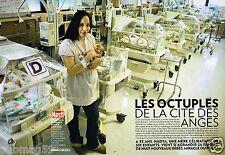 Coupure de presse Clipping 2009 (8 pages) Les Octuplès de la cité des anges