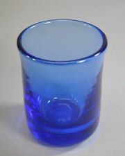 Labino Studio Art Glass Vase in Blue by Baker Signed and Dated 1984