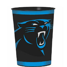 NFL CAROLINA PANTHERS REUSABLE KEEPSAKE CUPS (2) ~ Birthday Party Supplies Sport