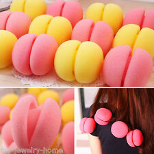 6PCS Balls Hair Rollers Magic Soft Foam Sponge Curlers Curls /Hair Care Tool
