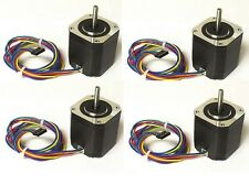 4pcs NEMA17 Stepper Motor,76 oz-in - DIY CNC, Robot, Reprap, Makerbot, Arduino,