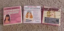 Lot of 3 NEW The Balm Cosmetics Manizer Highlighters - Betty, Mary & Cindy Lou