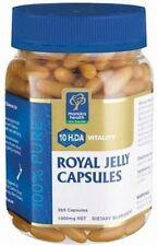 PURE NEW ZEALAND Manuka Health 10HDA Royal Jelly ( 365 ) Capsules FREE SHIPPING