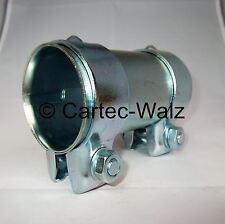 Conector Del Tubo De Escape / Conector de tubos / Abrazadera doble 65 x 125 mm