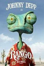 Johnny Depp Rango Region 4 DVD VGC