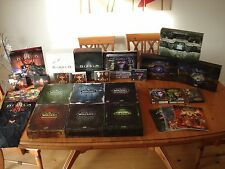 Ultimate blizzard collectors set-world of warcraft, starcraft, diablo + extras
